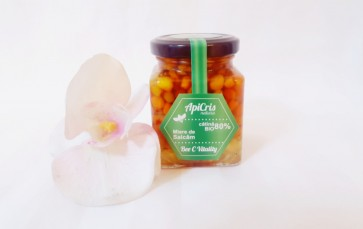 Bee C Vitality - 250 g (energizant apicol cu miere de salcâm si catină boabe)