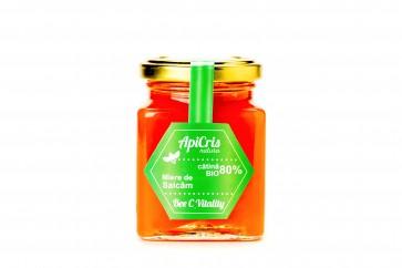 Bee C Vitality - 250 g (energizant apicol cu miere de salcâm si pulpă de catină)