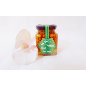 Bee C Vitality - 250 gr ( energizant apicol cu miere de salcam si catina boabe )