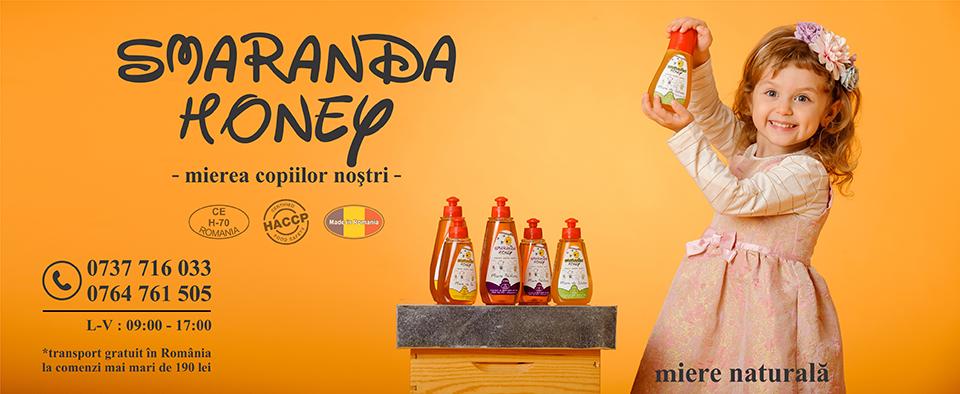 Miere naturala pentru copii Smaranda Honey